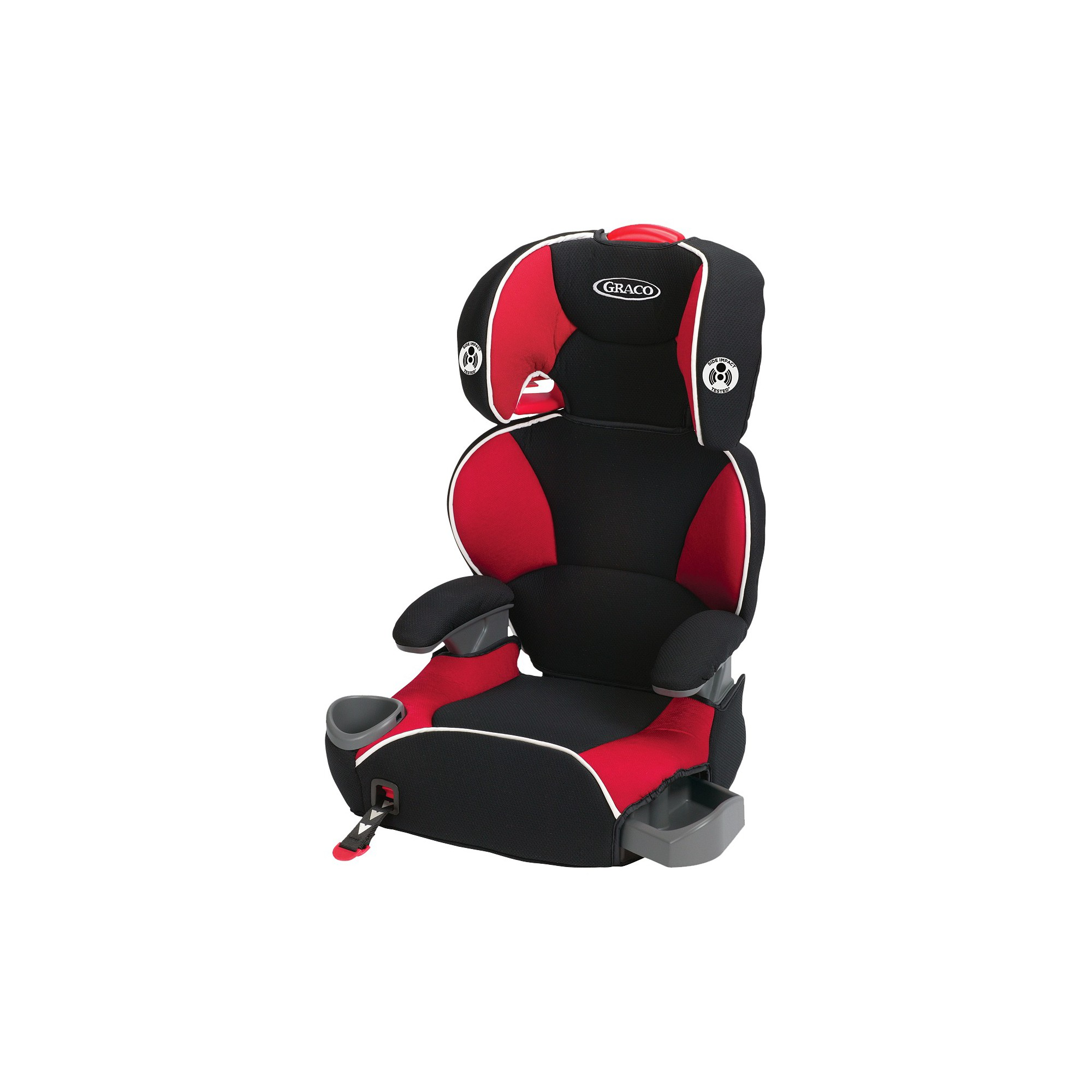 Excellent Graco Affix Youth Booster Seat With Latch System Atomic Ibusinesslaw Wood Chair Design Ideas Ibusinesslaworg