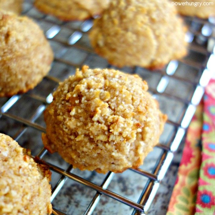3-Ingredient Fresh Apple Almond Flour Cookies {vegan, grain-free, oil-free, Paleo|