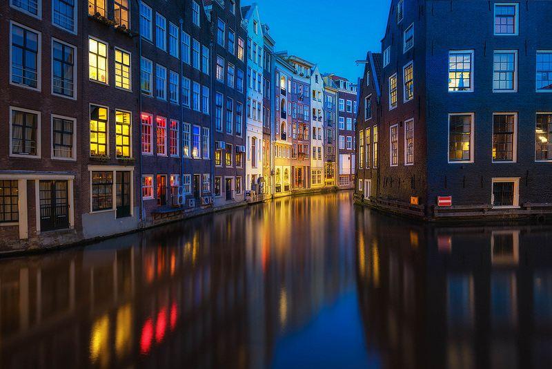 Red Light Amsterdam Netherlands Amsterdam Scenery