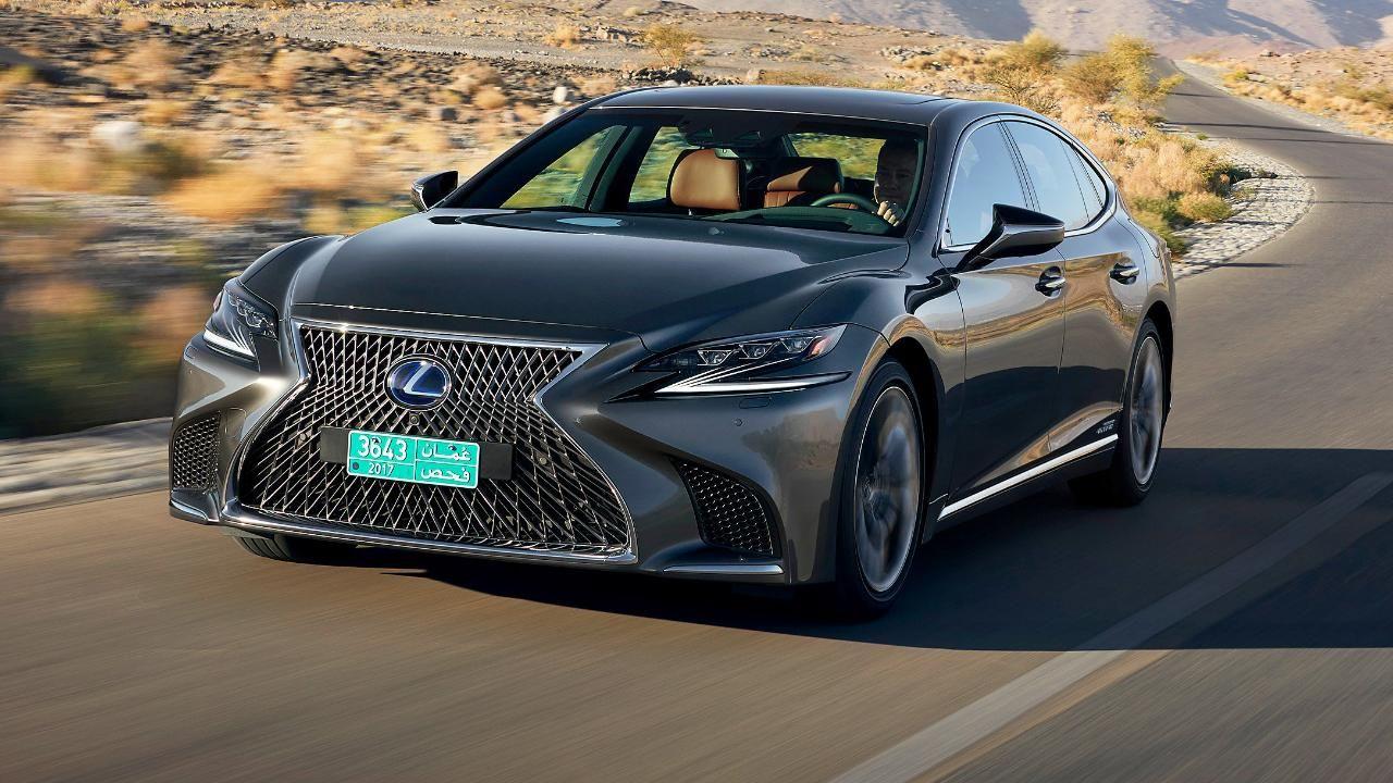Testfahrt im Lexus LS 500 h Die WellnessOberklasse