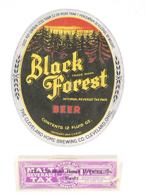 Black Forest Beer, Cleveland Home Brewing Co. Cleveland, OH