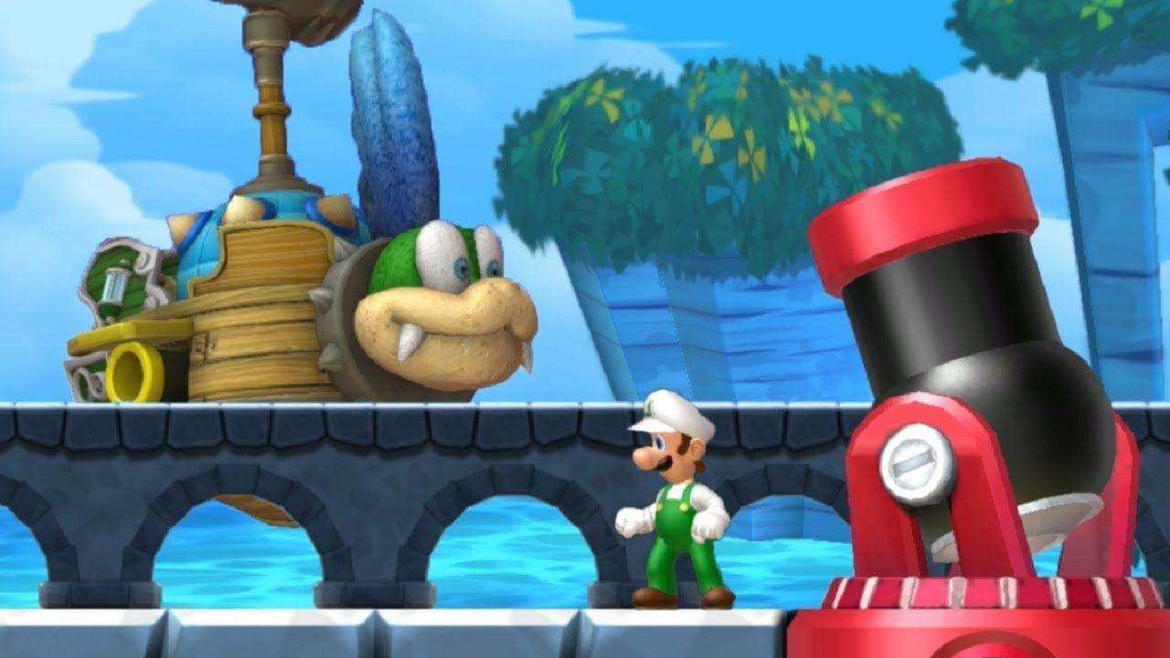 New Super Mario Bros U Deluxe Walkthrough Part 3 Sparkling