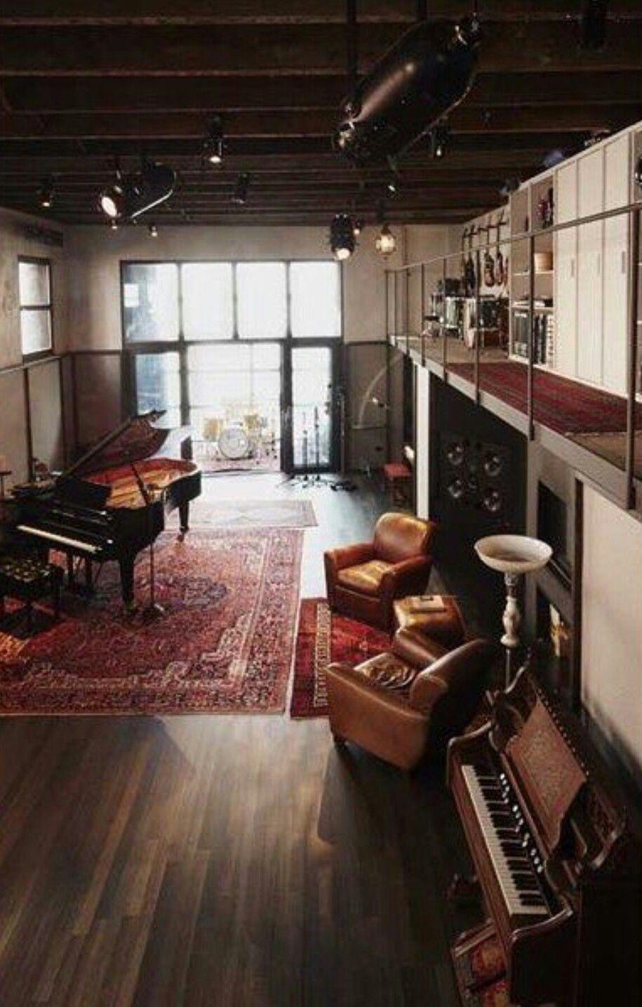 pingl par stefan dragan sur atele pinterest studio bureau studio et studio enregistrement. Black Bedroom Furniture Sets. Home Design Ideas