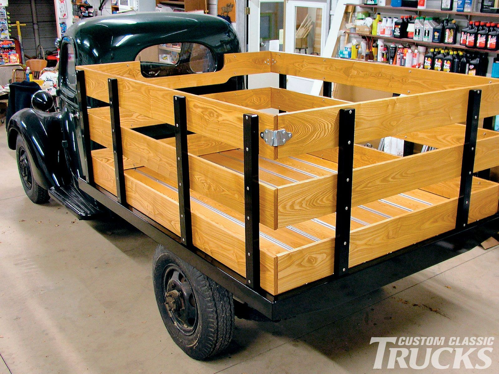 Wooden Truck Bed Of High Quality Pickup Box Trucks