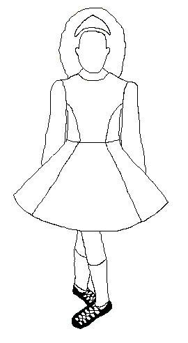 Design your own Irish Dancing Dress   Irish Dance / St ...