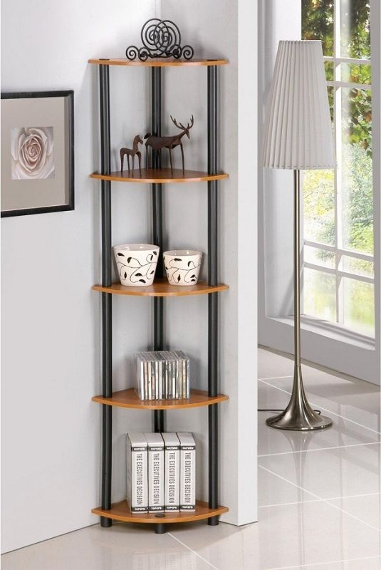 Living Room Ideas Captivating Corner Open Steel Display Shelving Units In Awesome For Decorating