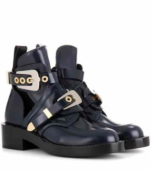 Ceinture leather derby boots | Balenciaga