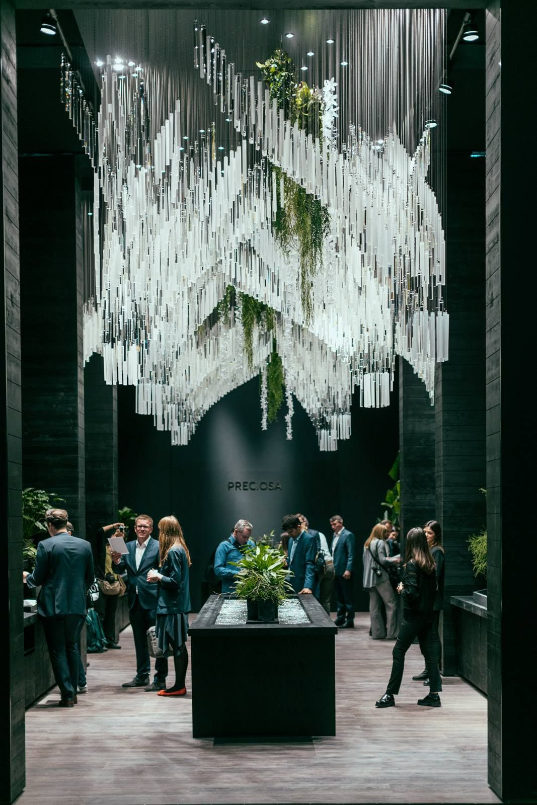 Preciosa lighting cultivation of chandeliers since 1724 at preciosa lighting cultivation of chandeliers since 1724 at salone del mobile 2017 aloadofball Gallery