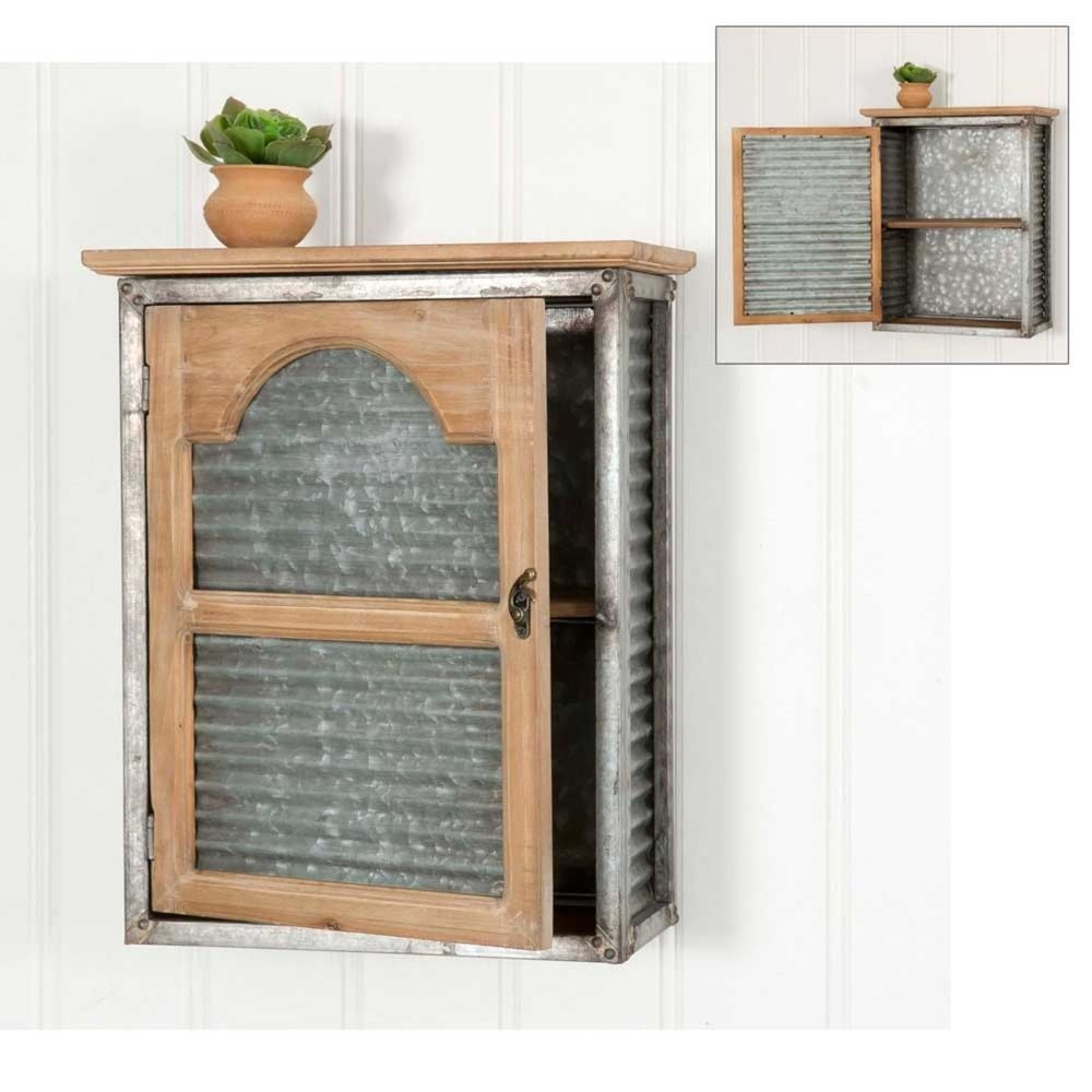 Wall Mounted Cabinet Primitive Rustic