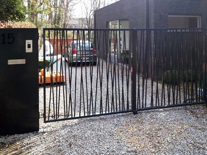 Poorten Realisaties - poorten | Herco Limburg