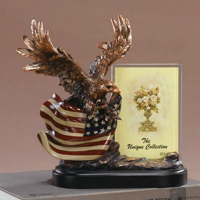 Wings Spreading Eagle with American Flag Picture Frame, 10 inches H Desktopstatue,http://www.amazon.com/dp/B006KA4U50/ref=cm_sw_r_pi_dp_BdpFtb109KG7QWF6