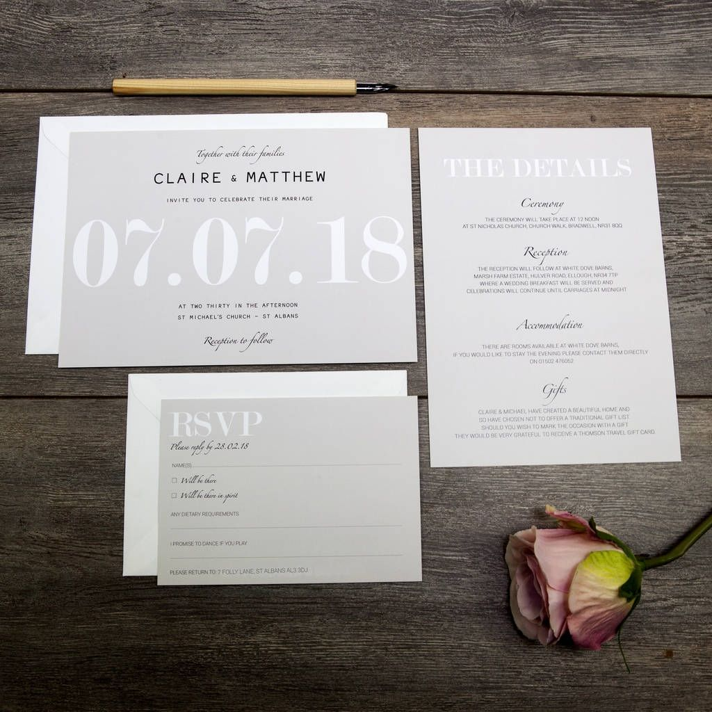 Invitation wording 30+ Non Traditional Wedding