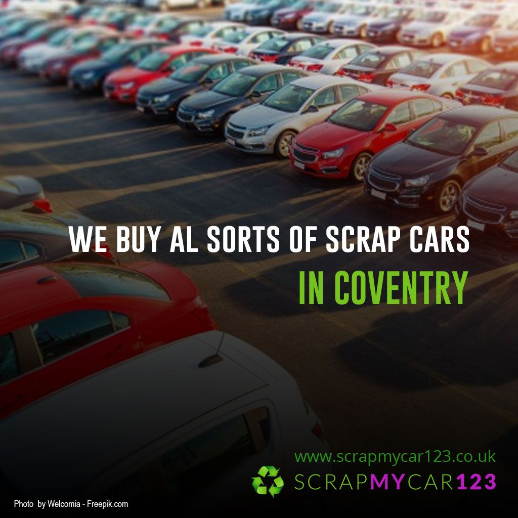 Scrap My Car for Cash Coventry, Scrap My Van Coventry