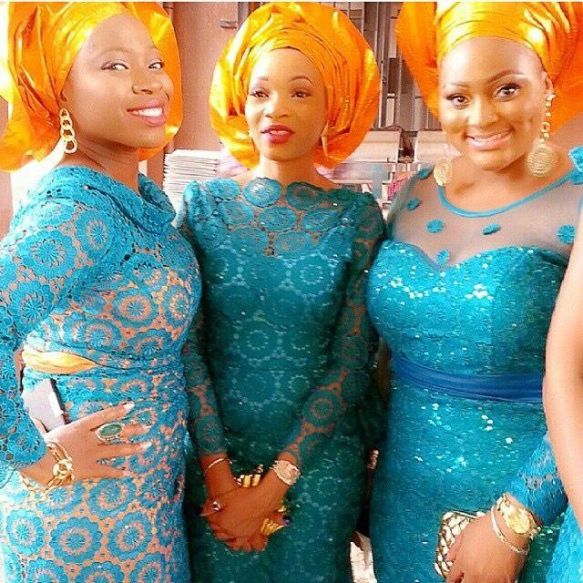 Top Aso-ebi Color Combination Ideas ~African Fashion
