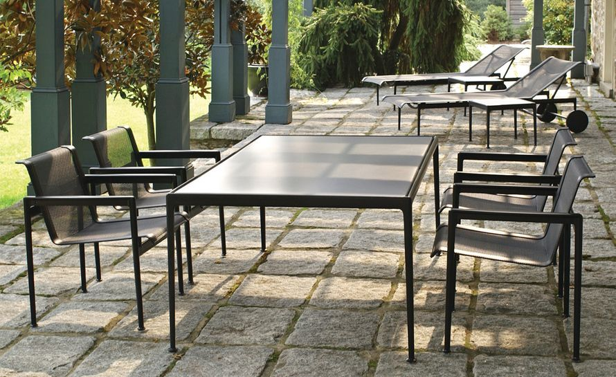 Richard Schultz 1966 Rectangular Dining Table Knoll Outdoor