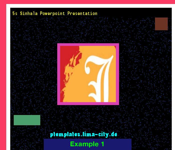 5s Sinhala Powerpoint Presentation Powerpoint Templates 133358