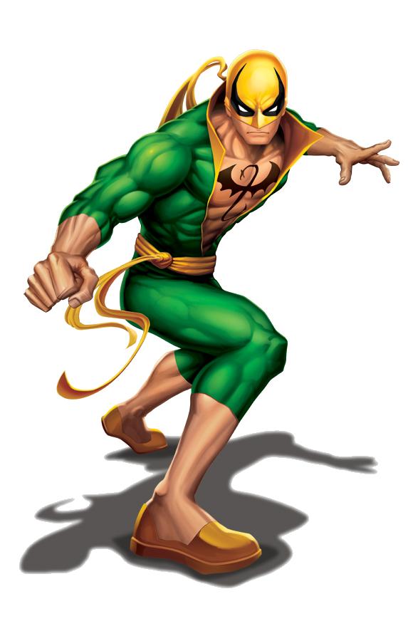 Marvel Png 13 Png 573 886 Herois Marvel Punhos De Ferro Marvel Comics