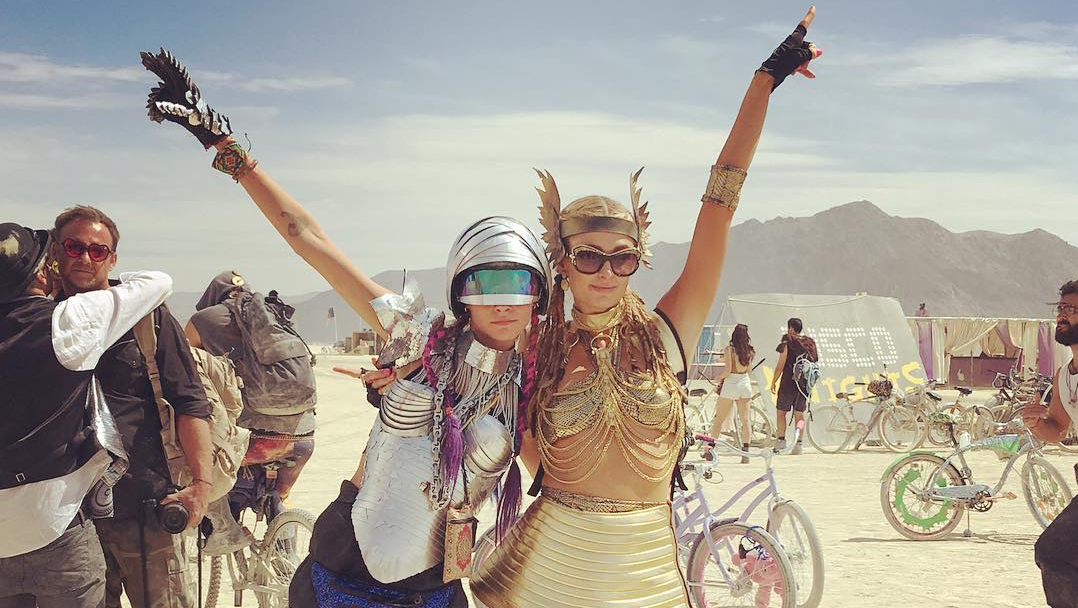 60 Of The Craziest And Hottest Burning Man Festival Girls