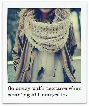 How to use a scarf to make your outfits more interesting