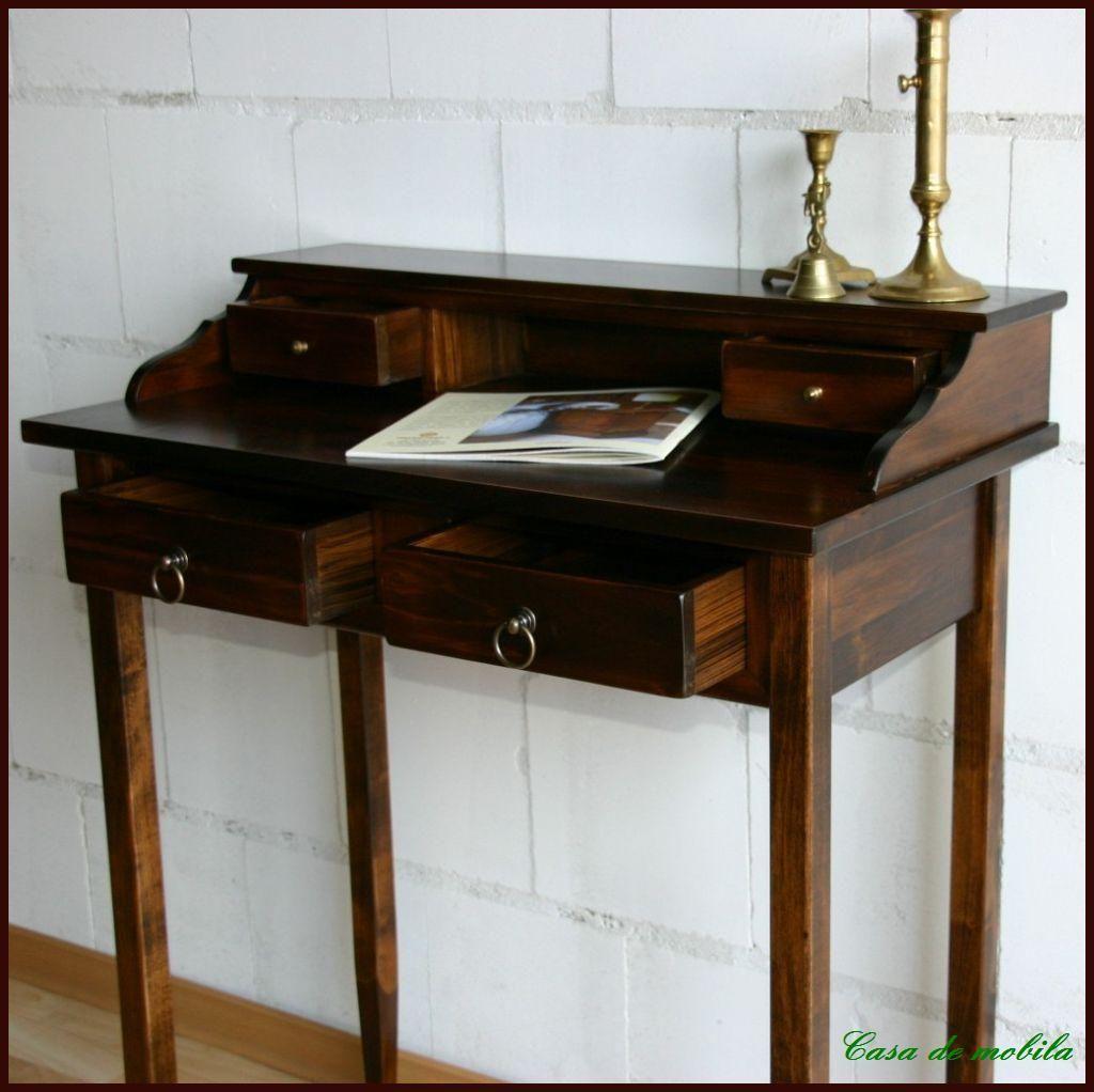 Sekretar Schminktisch Braun Nussbaum Kolonial Bei Casa De Mobila In 2020 Schreibtisch Holz Schreibtisch Schminktisch Braun