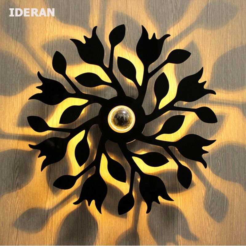 Wholesale Price Free Shipping Indoor Lighting Ideran 2017 New Creative Led Wall Lamp Bar Corridor Hotel Aluminum W Aluminum Wall Lights Background Wall Lamp