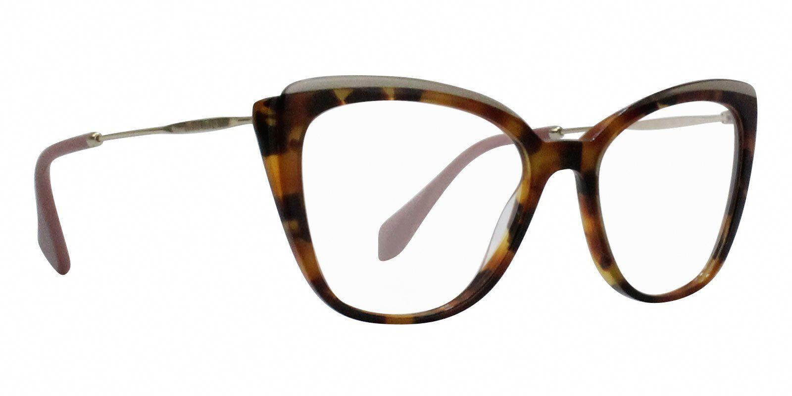 5c36d995042 Miu Miu - MU02QV Tortoise eyeglasses
