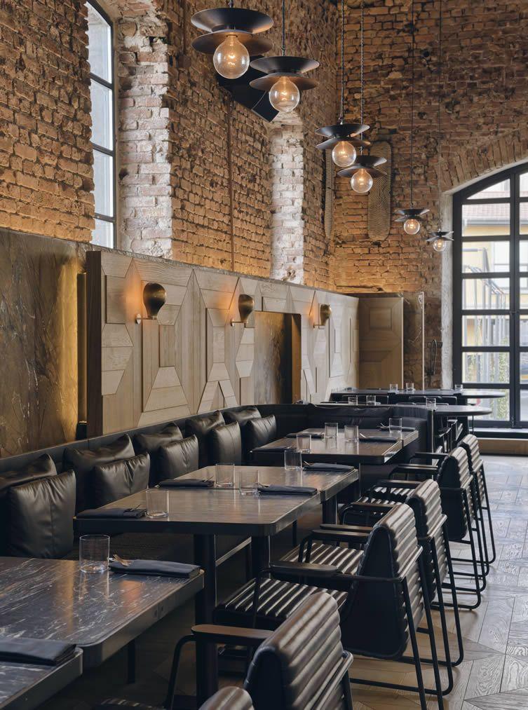 industriel IstanbulDesign design au Restaurant à lJFK1cT
