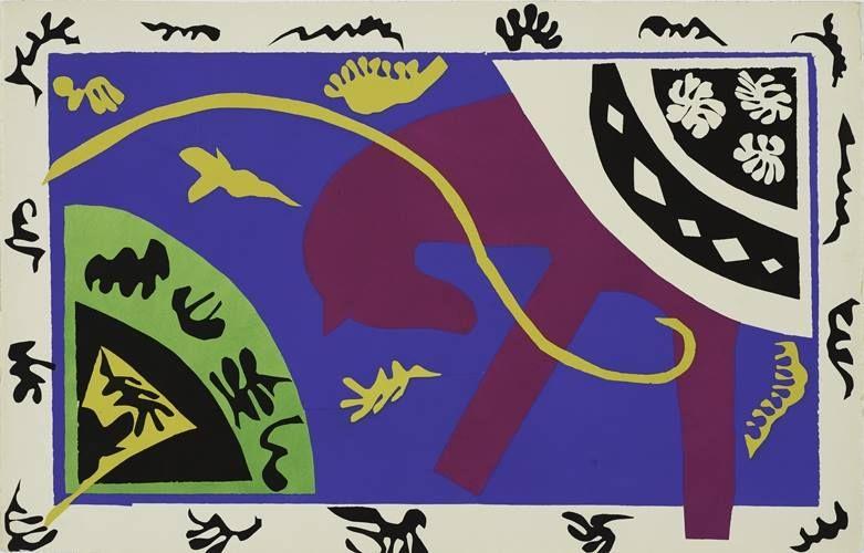 Henri Matisse (French, 1869-1964): Jazz, 1947.