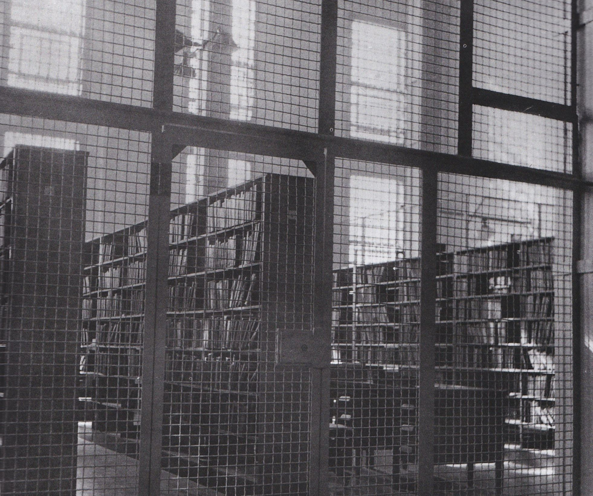The Books In The Alcatraz Library Many Of Them Donated From The