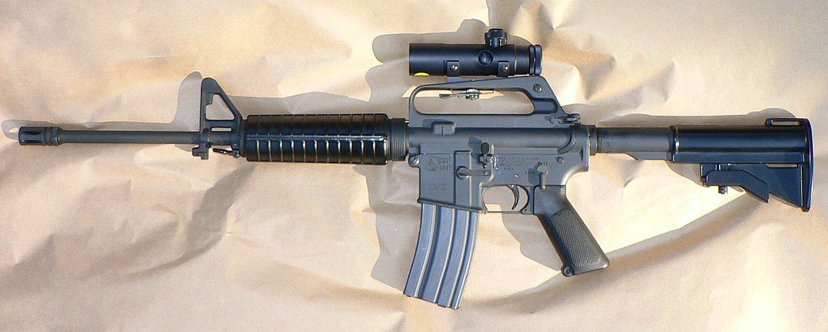 til that ar stands for armalite the company that invented the ar15