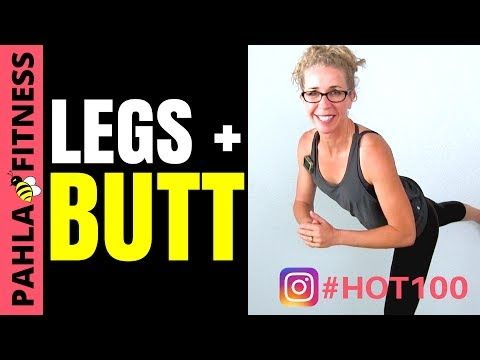 Lean LEGS + #bootygains 10 Minute LOWER BODY Legs + Butt Interval Workout | HOT 100 Challenge Day 42