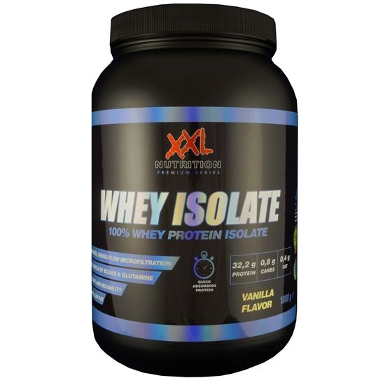 Whey Isolate Van Xxl Nutrition Krachttraining Eiwit Shakes
