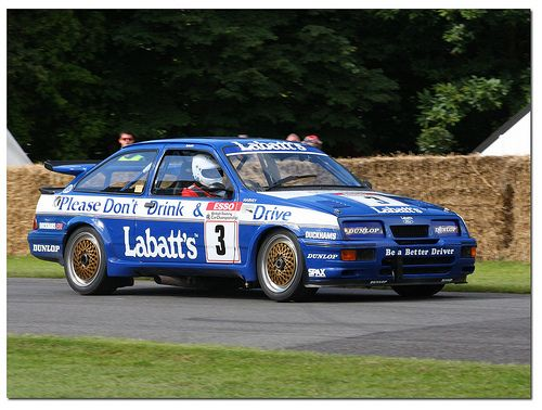 Ford Sierra Rs500 Cosworth Btcc Goodwood Festival Of Speed 2012