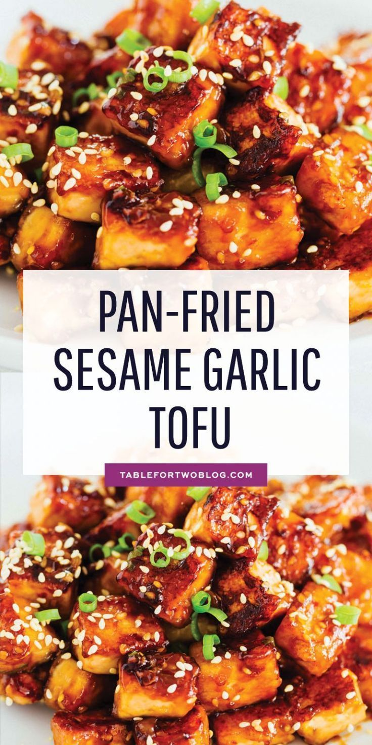Photo of If you aren't totally 100% on board with tofu yet, this pan-fried sesame garlic …