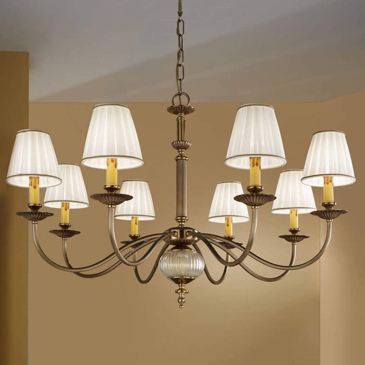 Kronleuchter Mit Lampenschirmen Moderne Kronlechter Hier: Kronleuchter 8-flammig (mit Bildern