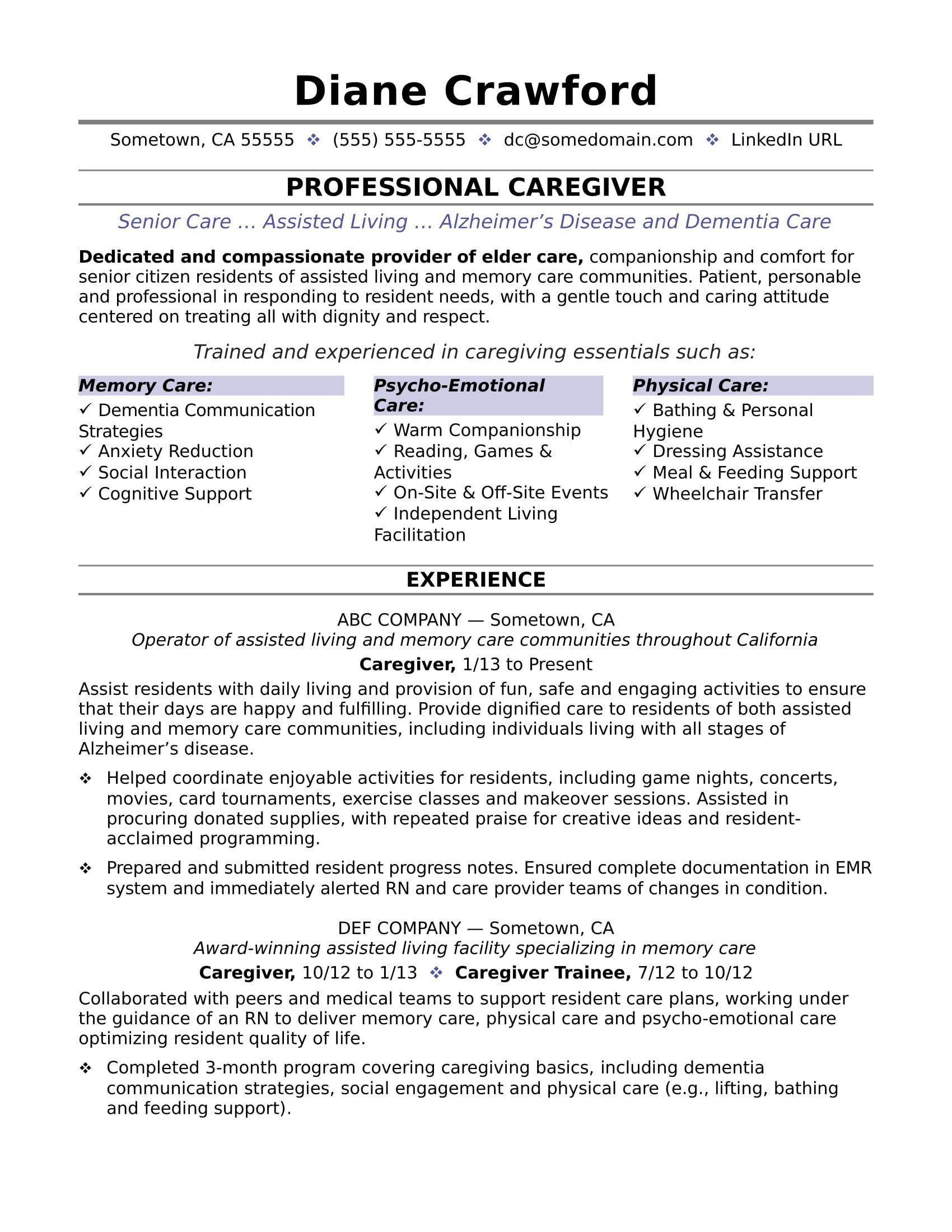 A solid resume can help you land a great job as a