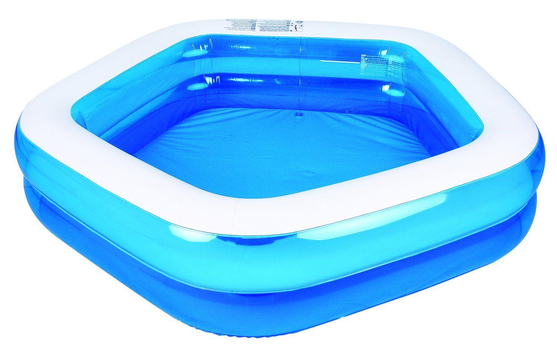 Kiddie Pool Giant Inflatable Family And Kids Pentagon Pool