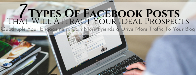 7 Types Of Posts To Share On Your Personal Facebook Profile  #NetworkMarketing #MLM #WFH