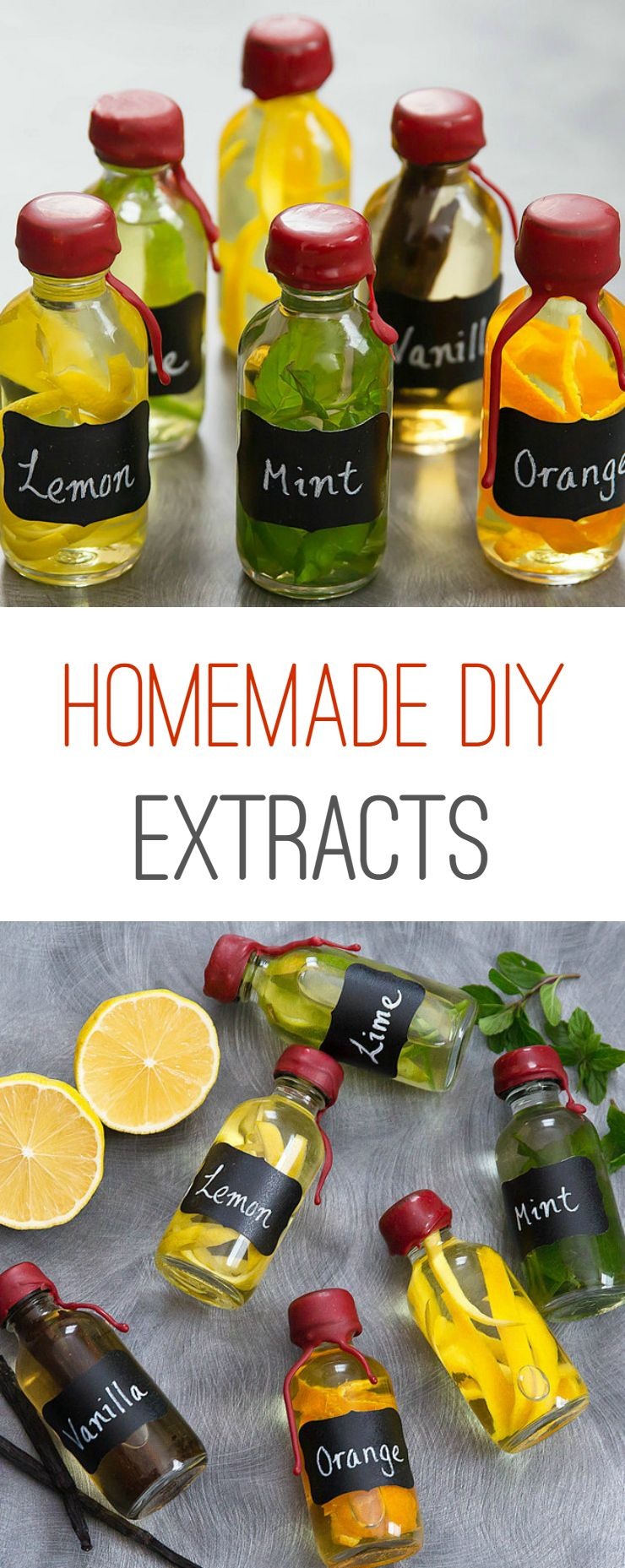 Homemade DIY Extracts #diygifts
