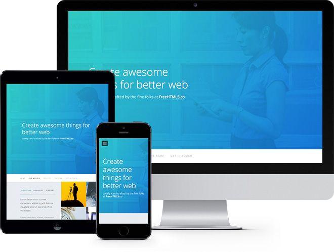 responsive website using bootstrap