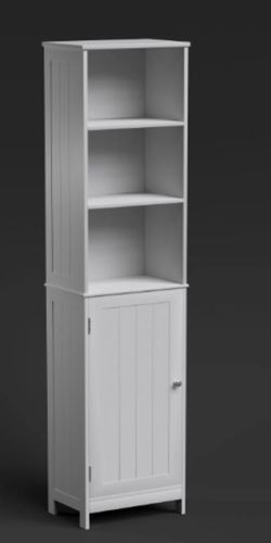 Richmond Tall Bathroom Furniture Cupboard Storage Bedroom Collection Cabinet