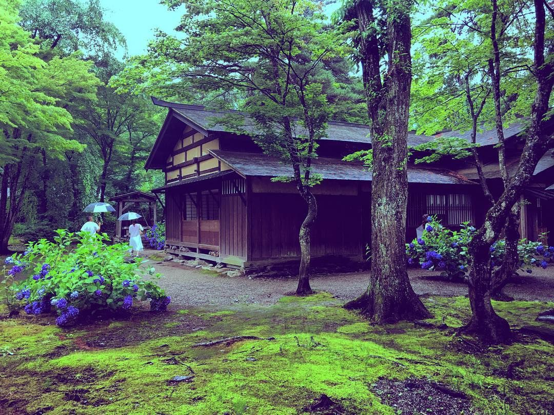 Drove up to tohoku to explore the northern gems of japan forth stop a taste of ancient japan - Nature integrated houses perfect harmony ...