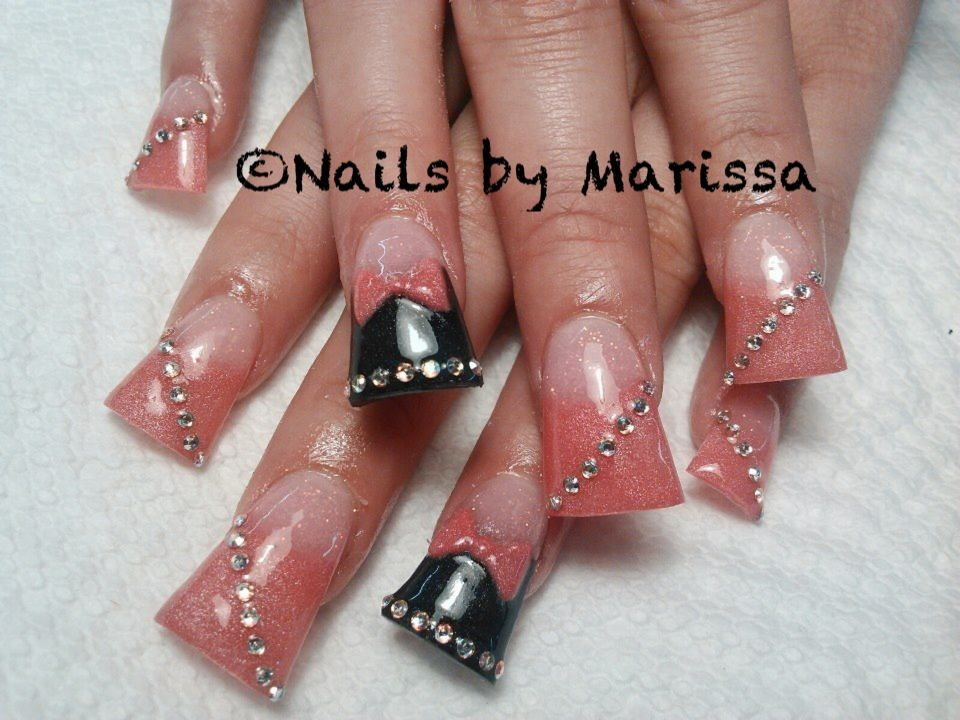 Acrylic nails | Nails by Marissa | Pinterest | Flare nails, Toe nail ...