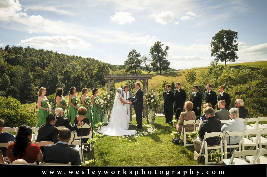 Lehigh Valley Wedding Photography Glasbern Inn Fogelsville Pa Wesley Works Entertainment