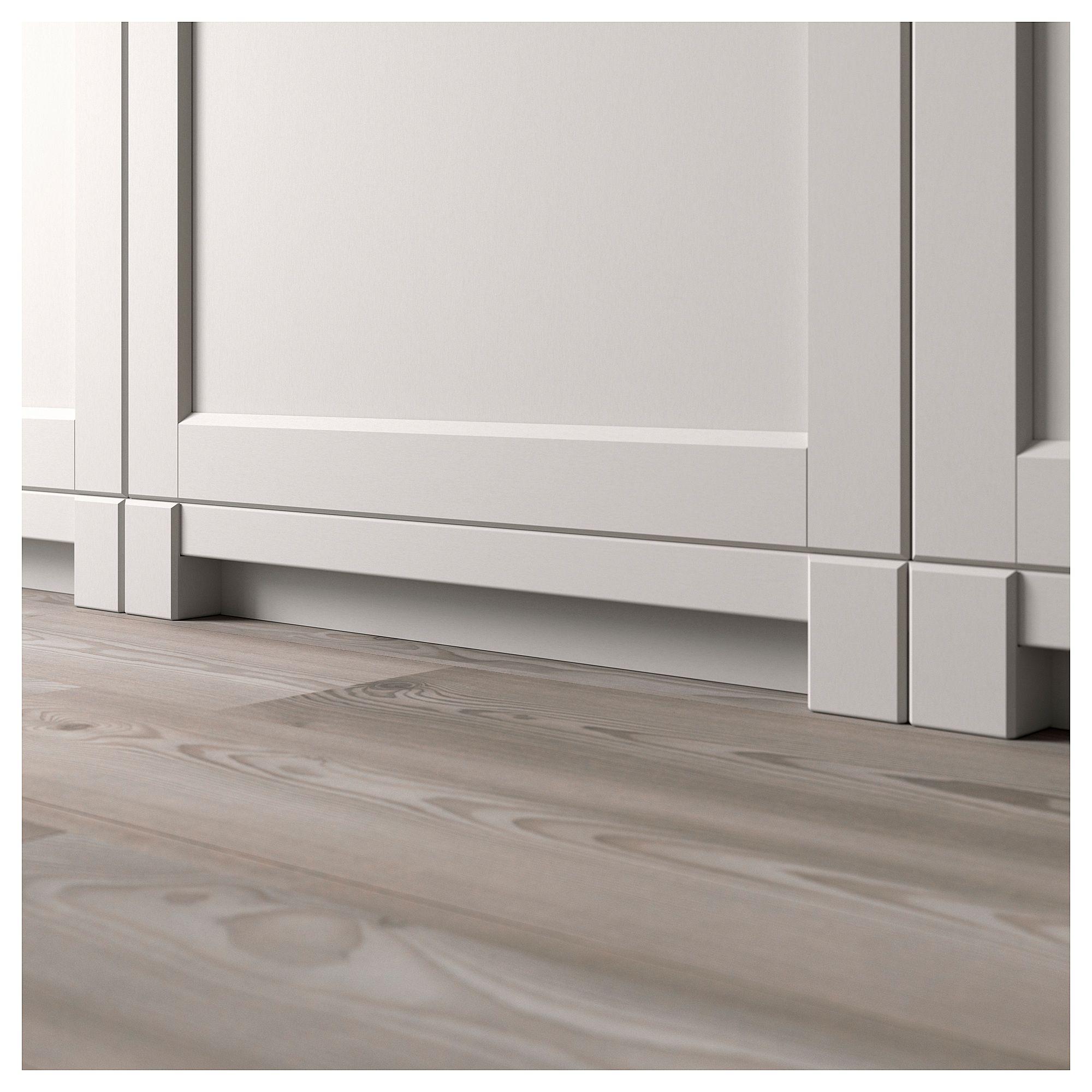 Best Lerhyttan Leg For Decorative Plinth Light Grey 8 Cm 640 x 480