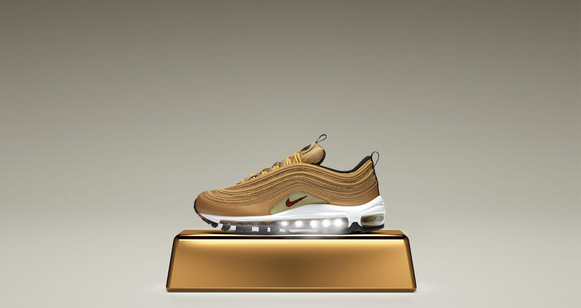 bd102a544c Nike Air Max 97 QS Metallic Gold 918890 700   Our New Arrival ...
