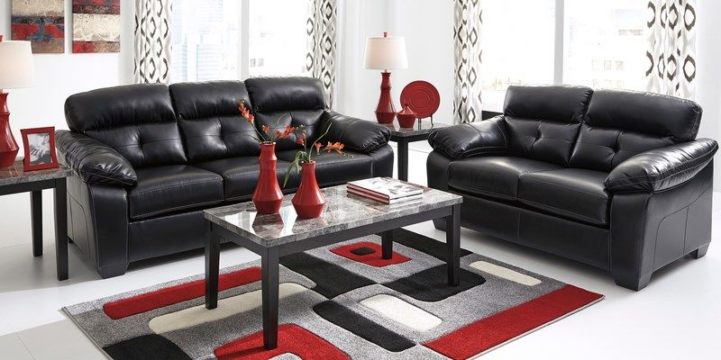 Black Leather Sofa Pillow Top Arms Sofa Design Ideas Pinterest