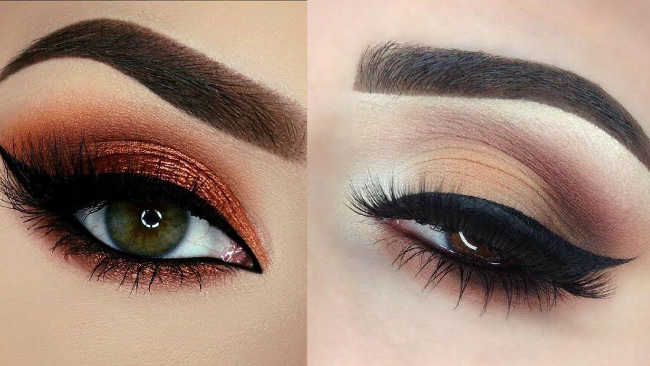 Colorful Glitter Smokey Eye Makeup Tutorial 3 Videos Pinterest