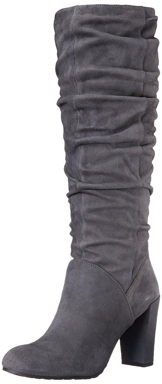 Nine West Shirly Fashion Stiefel Frauen Pumps rund Leder