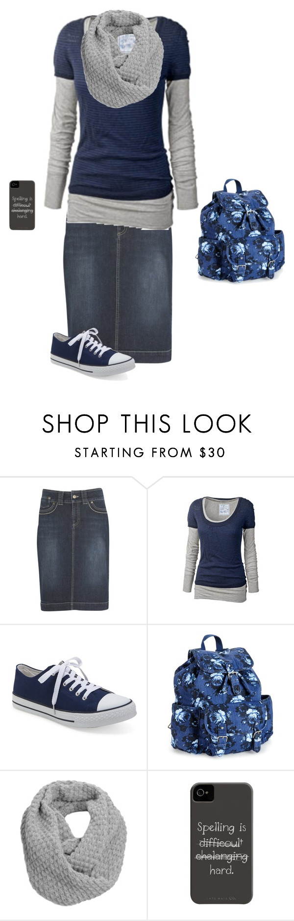 """""""School Morning"""" by modest-17 ❤ liked on Polyvore featuring kew.159, Fat Face, Aéropostale and Jigsaw"""